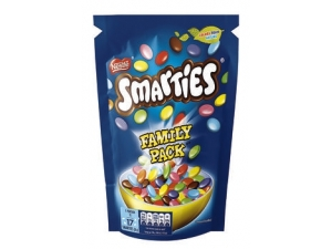 Smarties family pack gr 240
