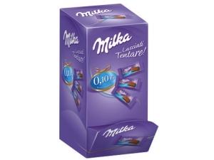Milka  mini tavoletta di cioccolato al latte in box pz 304