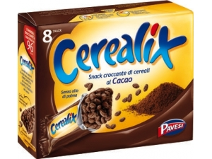 Pavesi cerealix  snack al cacao gr 160