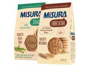 Misura biscotti • FIBREXTRA INTEGRALI • 6 cereali  • SOIA - gr 330 • muesli gr 230