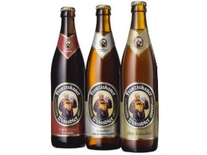 Franziskaner birra • hefe weissbier dunkel • hefe weissbier cl 50
