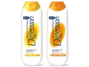 Dimension  2 in 1 shampoo & balsamo vari tipi - ml 250