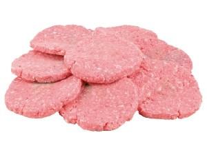 Hamburger • pollo • tacchino al kg