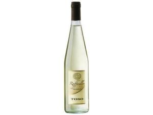 Toso  raffaello  vino bianco frizzante  cl 75