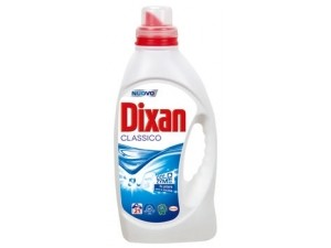 Dixan   detersivo liquido per lavatrice   • classico • color • lavanda 19 lavaggi  • pulito e liscio  18 lavaggi