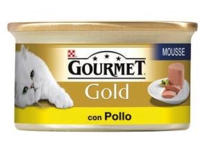 Gourmet gold  per gatto  vari gusti in lattina gr 85