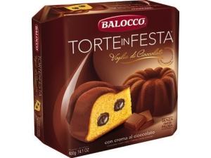 BALOCCO torte in festa • yogurt e gocce di cioccolato • crema al cioccolato • crema al limone • creme panna e cioccolato gr 400