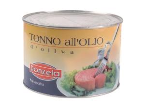 Donzela tonno  all'olio di oliva  KG 1,73