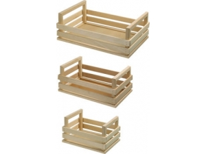 Cassette in legno assortite