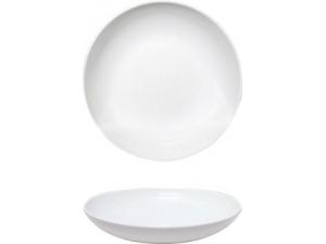 Saturnia piatto fondo siviglia bianco cm 22