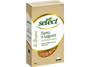 SELECT  LE ZUPPE GR 400 • FARRO e LEGUMI  • orzo e legumi