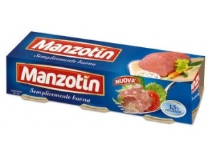 Manzotin  carne in gelatina gr 90 x 3