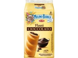 Mulino bianco  8 flauti  • cioccolato • latte • stracciatella gr 280