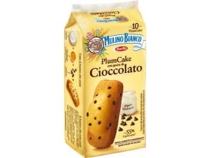 Mulino bianco  10 plumcake  con gocce di cioccolato gr 350