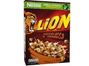 Nestlè lion cereali cioccolato e caramello gr 400