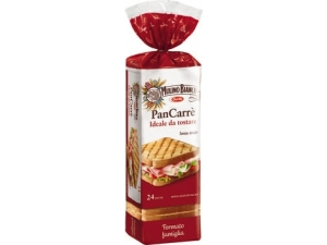 Mulino bianco pan carrè 24 fette gr 430