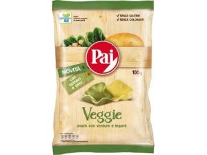 Pai patatine veggie • spinaci e ceci • pomodoro e piselli gr 100