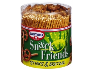 Cameo snack friends  sticks & bretzel gr 300