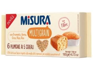 Misura   6 plumcake  • senza zucchero • multigrain gr 190
