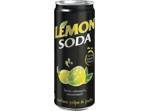 Lemon-soda  in lattina  cl 33