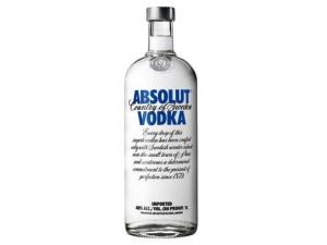 ABSOLUT vodka  lt 1
