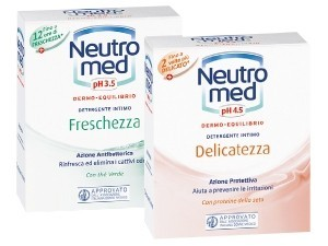 Neutro med  detergente intimo vari tipi ml 200