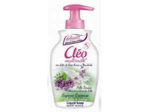 Cléo multimilk  sapone liquido ml 300