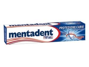 Mentadent  dentifricio protezione carie • classico • sbiancante ml 75