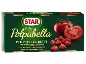 Star la mia polpabella   polposi cubetti 100% pomodoro italiano gr 400 x 3