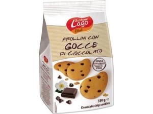 Gastone lago Elledi frollini • integrali • cereali  • con uova • alla panna • con cacao e nocciole • con gocce di cioccolato • frolleggere • Delifrolle gr 350