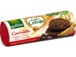 Gullon cuor di cereale • frutta e fibre gr 300 • cioccolato gr 280