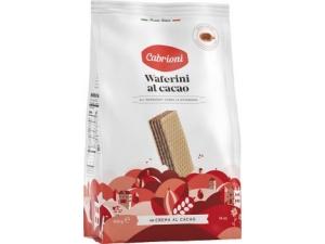 Cabrioni waferini • cacao • nocciola • vaniglia gr 400