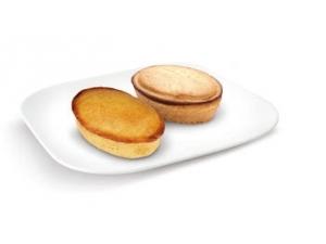 Martinucci pasticciotto • crema • crema e amarena • crema e cioccolato gr 60 x 50 pz