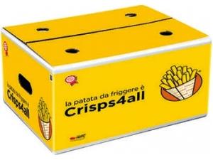 Crisps4all patate per frittura kg 12 al pz
