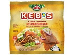 Aia keb's kebab di tacchino gr 500