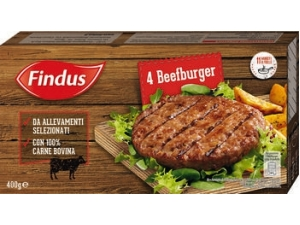 Findus  4 beefburger gr 400