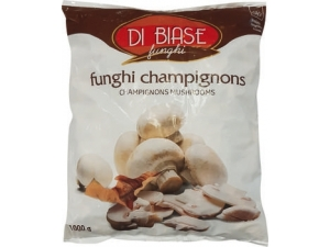 Di biase  funghi champignons  a fette kg 1