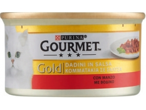 Gourmet gold  patè per gatto vari gusti gr 85