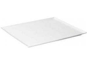 Table top vassoio rettangolare porcellana cm 31 x 24 x 1,7