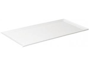Table top vassoio rettangolare in porcellana cm 41 x 20,5 x 1,5