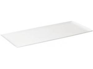 Table top vassoio rettangolare in porcellana cm 40 x 16 x 1,8