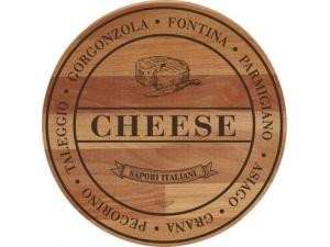Bisetti TAGLIERE IN FAGGIO  • CHEESE • SALAMI • greens • pizza DM 30