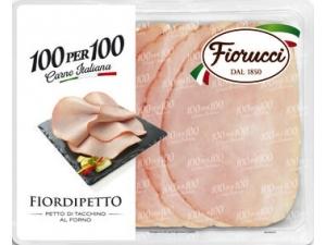 Fiorucci 100per100 fiordipetto petto di tacchino al forno gr 100