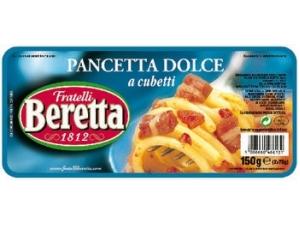 Beretta  pancetta a cubetti • dolce • affumicata gr 150