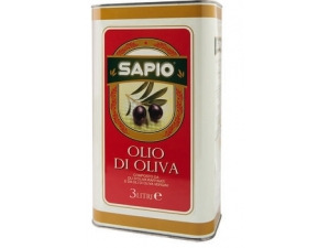 Sapio olio d'oliva lt 3