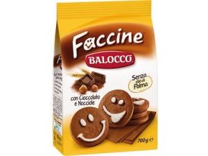 Balocco  biscotti ricchi • faccine • girandole • gocciolotti gr 700