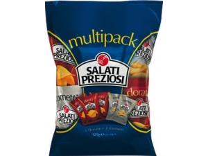 Salati preziosi multipack misto  gr 25 x 5