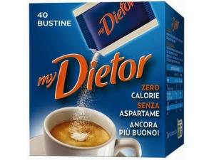 My dietor dolcificante 40 bustine gr 40
