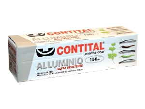 Contital  alluminio in box mt 150