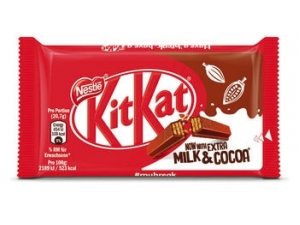 • kit kat   - classico - white  - dark 70% - chunky  • lion • smarties